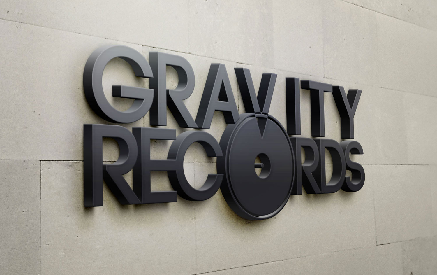 Gravity Records - Logo Design