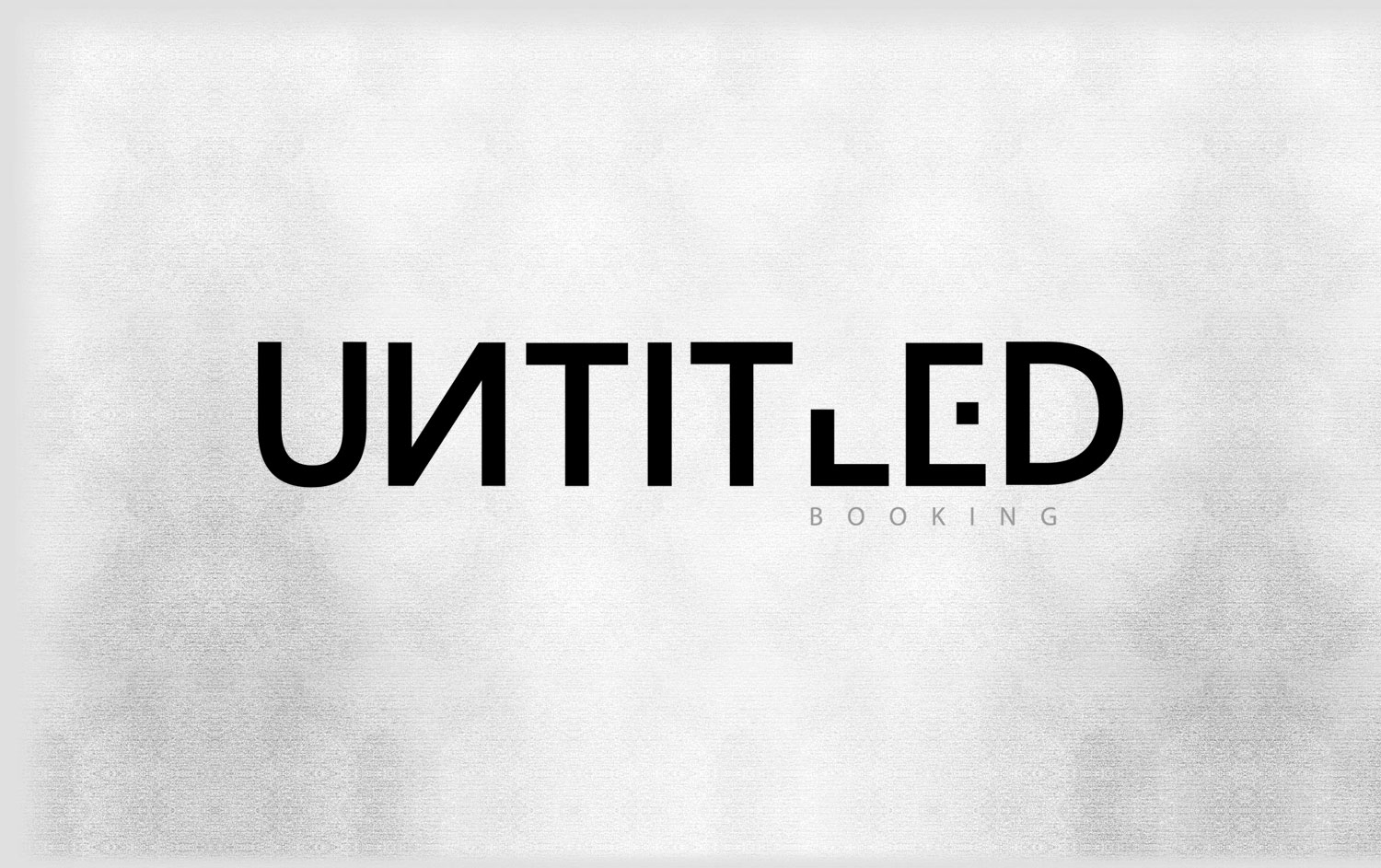Untitled Booking - Logo Design
