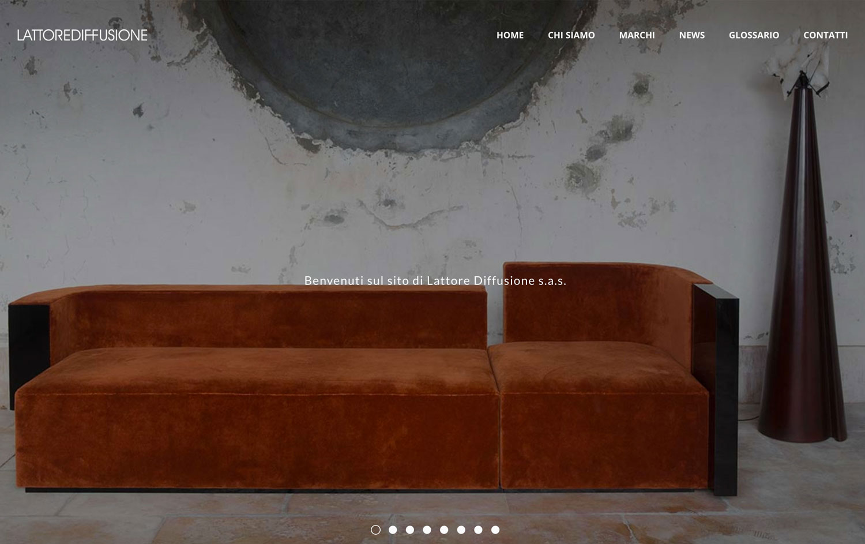 Lattore Diffusione - Logo Design / Webdesign